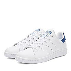 adidas阿迪三叶草新款专柜同款大童STAN SMITH休闲鞋S74778