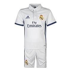 adidas阿迪达斯2016新款专柜同款男小童足球俱乐部系列短袖套服AI5192