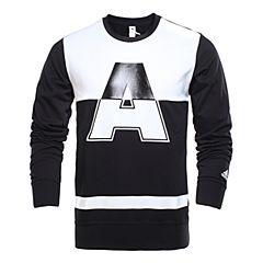 adidas阿迪达斯新款男子亚洲图案系列针织套衫AY3712