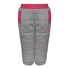 adidas阿迪达斯新款专柜同款女婴童两面穿针织长裤AZ8583