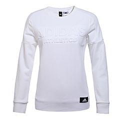 adidas阿迪达斯2017年新款女子运动全能系列针织套衫BK4983