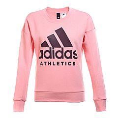 adidas阿迪达斯2017年新款女子运动全能系列针织套衫B47325