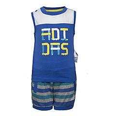 adidas阿迪达斯2017新款男婴童IB TANK SET无袖套服BJ8103