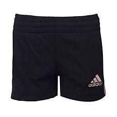 adidas阿迪三叶草2017新款女小童LG KN SHORT针织短裤BP9339