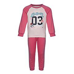 adidas阿迪达斯2017新款女婴童I SP TERRY JOG长袖套服CE9553