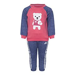 adidas阿迪达斯2017新款女婴童IN F CREW SET长袖套服CG0387