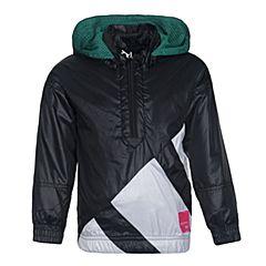 adidas阿迪三叶草女小童L EQT WB梭织茄克BR7276