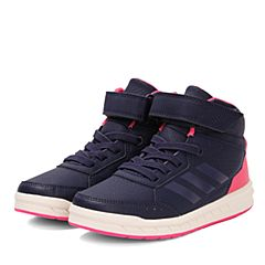 adidas阿迪达斯女小-大童AltaSport Mid EL K训练鞋CG3339