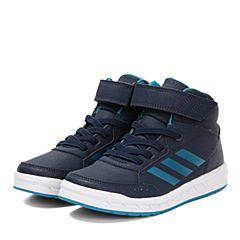 adidas阿迪达斯男小-大童AltaSport Mid EL K训练鞋BB6209