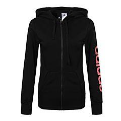 adidas阿迪达斯女子ESS LIN FZ HD针织外套BR2575