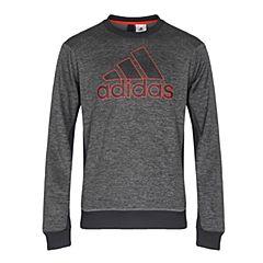 adidas阿迪达斯男子COMM G CREW针织套衫BQ4745
