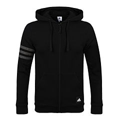 adidas阿迪达斯2017男子3S LOGO Hood B针织外套CI3308