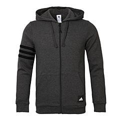 adidas阿迪达斯男子3S LOGO Hood B针织外套CI3307