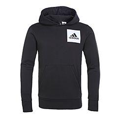 adidas阿迪达斯2019年新款男子ESS LOGO P/O B针织套衫S98769