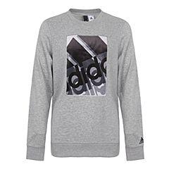 adidas阿迪达斯新款男子GFX CREW针织套衫CV9162