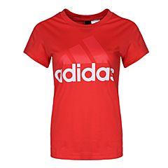 adidas阿迪达斯2018女子ESS LI SLI TEE圆领短T恤CF8822
