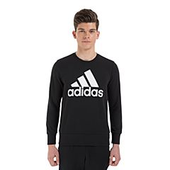 adidas阿迪达斯2018男子ESS BIGLOG CREW针织套衫CD6275