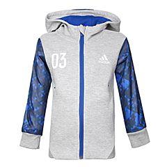 adidas阿迪达斯2018男小童LB FZ HOODY针织茄克CV5385
