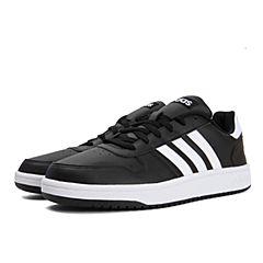 adidas阿迪达斯2018男子HOOPS 2.0篮球场下休闲篮球鞋DB0117