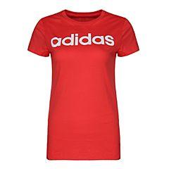 adidas阿迪达斯2018女大童YG LINEAR TEE短袖T恤CF7295