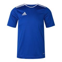 adidas阿迪达斯2018男大童ENTRADA 18 JSYY足球训练短袖T恤CF1049