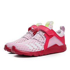 adidas阿迪达斯2018女婴童RapidaFlex 2 Cool EL I训练鞋CQ1680