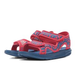 adidas阿迪达斯2018女小童Zump C游泳鞋DB2527
