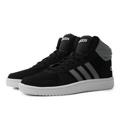 adidas阿迪达斯2018男子HOOPS 2.0 MID篮球场下休闲篮球鞋F36154