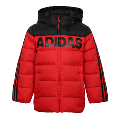 adidas阿迪达斯男小童LK J DOWN JKT羽绒服DM7118