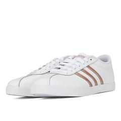 adidas阿迪達斯女子COURTSET網球場下休閑網球鞋FW4168