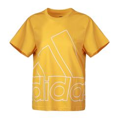 adidas阿迪達斯2021女子W FAV BL TEE圓領短T恤GL7164
