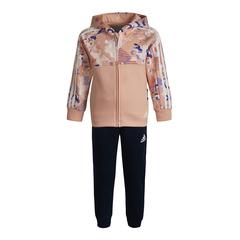 adidas阿迪達斯2021女小童LK CNY HDY SET長袖套服GP0564