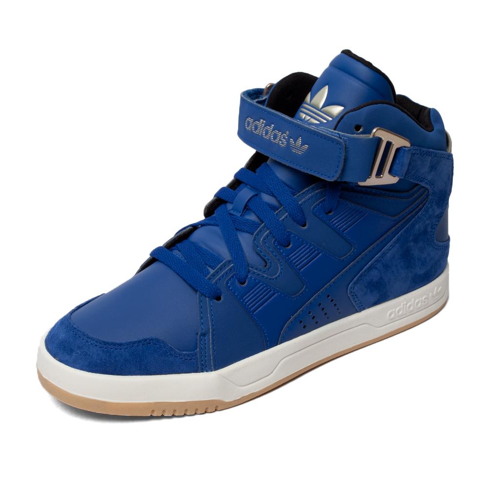 蓝色 鞋帮: 高帮 性别: 男子 品牌系列: 三叶草系列 运动项目: 板鞋图片