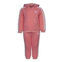 adidas阿迪三叶草新款专柜同款女童长袖套服S95955