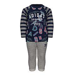 adidas阿迪三叶草新款专柜同款男童长袖套服S95945