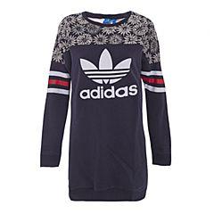 adidas阿迪三叶草新款专柜同款女童套头衫S96033