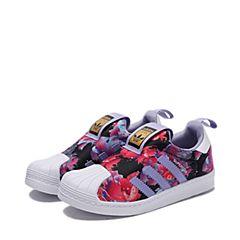 adidas阿迪三叶草2017新款女小童SUPERSTAR 360 C休闲鞋BA7118