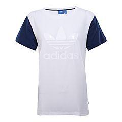 adidas阿迪达斯2017年新款女子三叶草系列系列短袖T恤BJ8281
