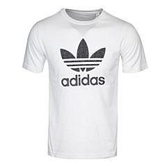 adidas阿迪三叶草2017新款男大童J TRF FT TEE短袖T恤BK2025