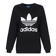 adidas阿迪三叶草新款女子三叶草系列针织套衫BP9494