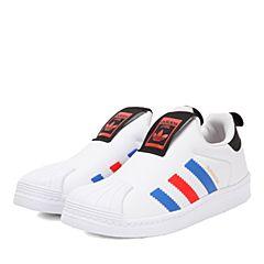 adidas阿迪三叶草2017小童SUPERSTAR 360 C休闲鞋BY9929