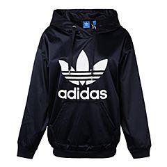 adidas Originals阿迪三叶草2017年新款女子TREFOIL HOODIE系列套头衫BP9406