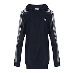 adidas Originals阿迪三叶草女子3STR LONG HOODI套头衫BR4512