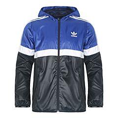 adidas阿迪三叶草男大童J TRF FL WB梭织夹克BQ3957