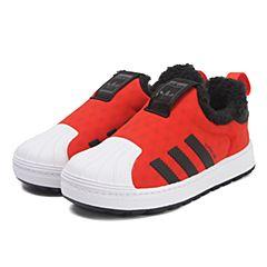 adidas阿迪三叶草中性婴童SUPERSTAR WINTER 360 I休闲鞋BY9942