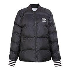 adidas Originals阿迪三叶草新款女子SST REV JACKET棉服BR9146