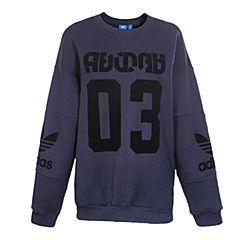 adidas Originals阿迪三叶草新款女子TREFOIL SWEATER套头衫BS4284