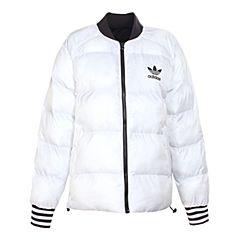 adidas Originals阿迪三叶草新款女子SST REV JACKET棉服BS4424