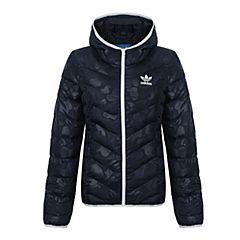 adidas Originals阿迪三叶草新款女子SLIM JACKET AOP棉服BS5011