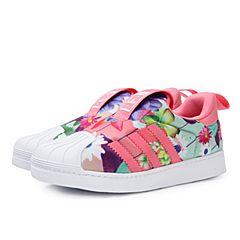 adidas阿迪三叶草2018女婴童SUPERSTAR 360 I 休闲鞋CQ2578